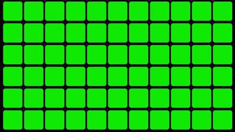 Green Screen Design 24 flickering loop Stock Video Footage