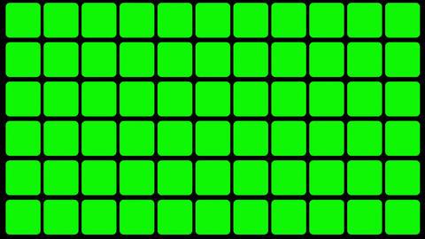 Green Screen Design 24 flickering loop Animation