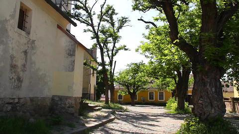 Old European Village 27 Stock Video Footage
