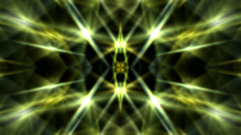 dazzling yellow light,ray laser,powerful electricity energy,time tunnel,fiber optic,paradise.Crystal Animation