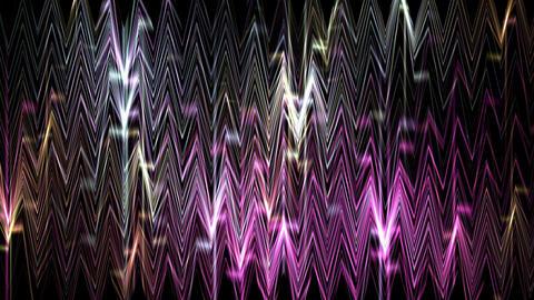 dazzling nightclub glass mirror screen,waveform... Stock Video Footage
