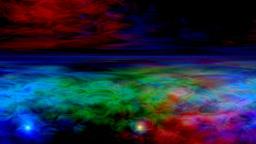 Nebula and UFO Stock Video Footage