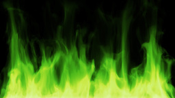 Toxic fire HD Animation