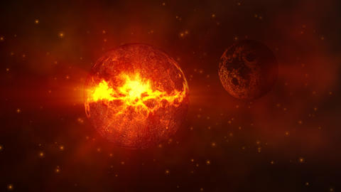 Planet HD Pjpeg stock footage