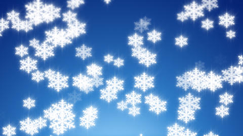 Animated Snowflakes Animation