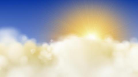 cloud flight HD Animation