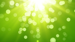 Defocused lights green HD 2 Animation