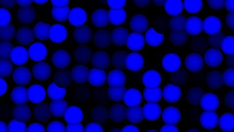Dark blue circles Stock Video Footage