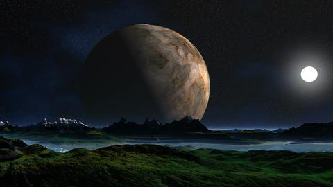 Three moon Animation