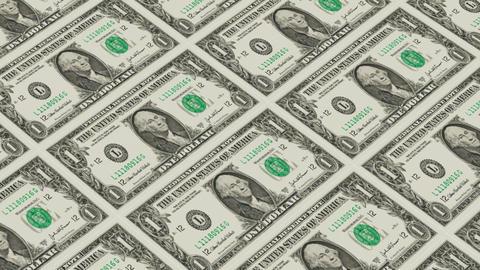 Printing Money Animation,1 dollar bills Animation