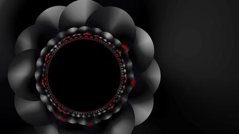 Rotating flower Stock Video Footage