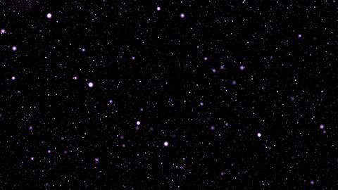 Flight through stars Stock Video Footage
