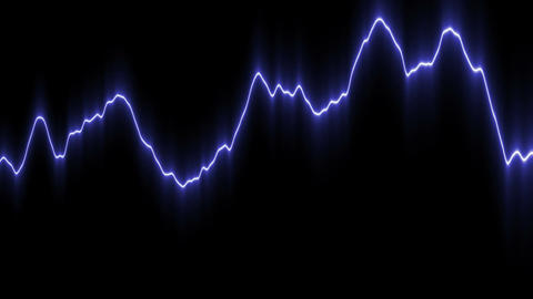 Light curved line Stock Video Footage