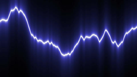 Light curved line Animation
