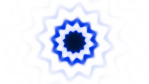 Dark blue flower (pattern) Animation