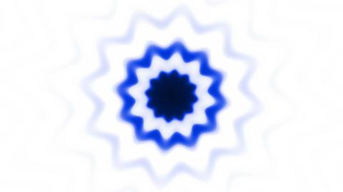 Dark blue flower (pattern) Stock Video Footage