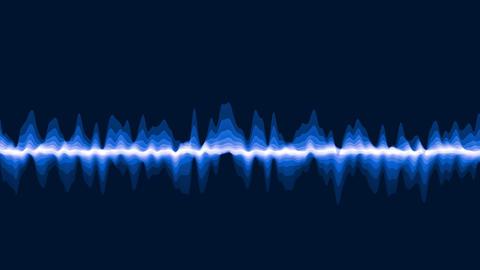 Blue waves Animation
