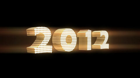 2012 Stock Video Footage