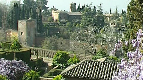 Alhambra Stock Video Footage