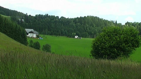 Countryside in Austria Stock Video Footage