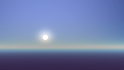 Rising on a foggy planet Stock Video Footage