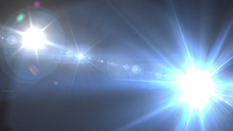 blue Flash flare Animation