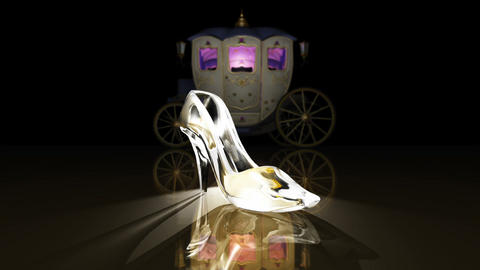 Cinderella shoes CG動画