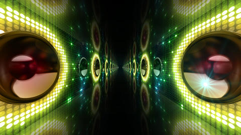 Disco Space 3 PAmC1B HD Stock Video Footage