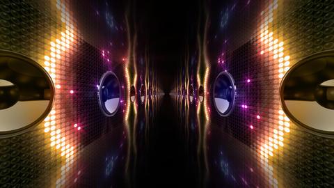 Disco Space 3 PAmC1B HD Stock Video Footage