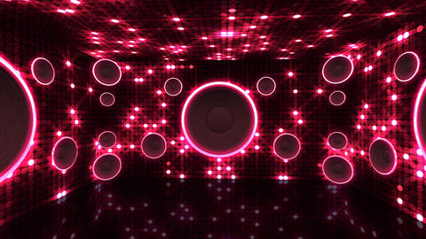 Disco Space 3 RArC2B HD Stock Video Footage