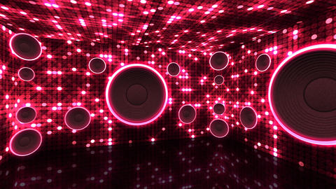 Disco Space 3 RArC2B HD Animation