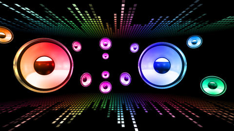 Disco Space 3 RArLB HD Stock Video Footage