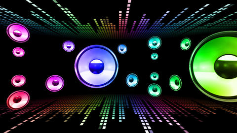 Disco Space 3 RArLB HD Animation