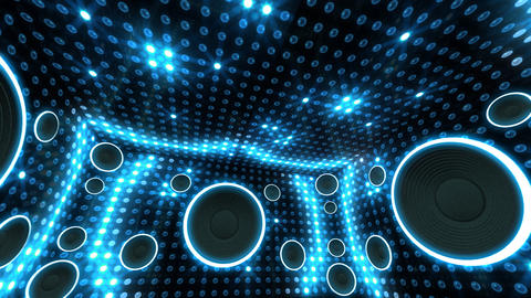 Disco Space 3 RBrD1B HD Animation