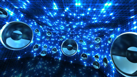 Disco Space 3 RCrC2B HD Animation