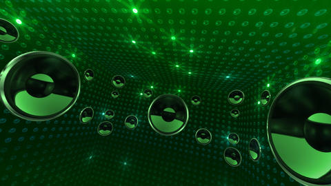 Disco Space 3 RCrD3B HD Animation