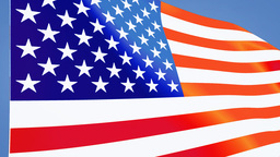 US flag close up Stock Video Footage