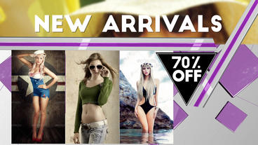 The Store Modern Slides After Effects Template