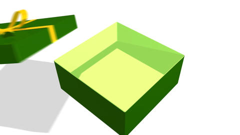 Present box CG動画素材