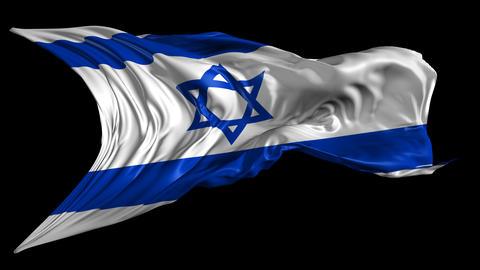Flag of Israel Animation