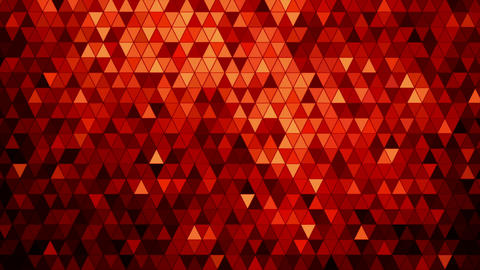 Red mosaic abstract background animation Animation