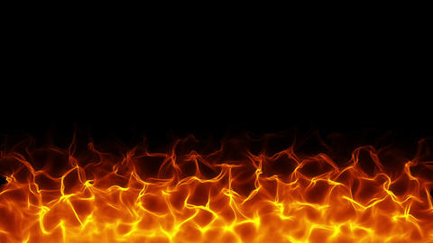 Fiery bg Animation