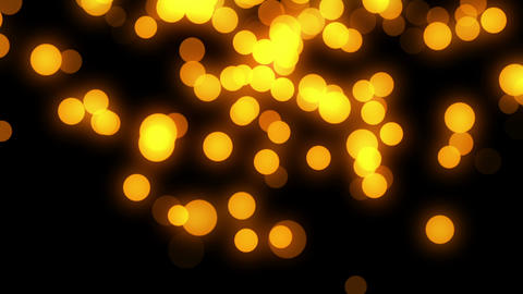 Gold bokeh HD loop Animation