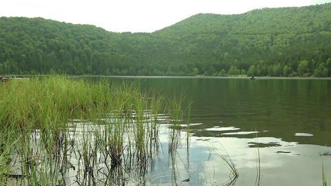Mountain lake 04 Footage