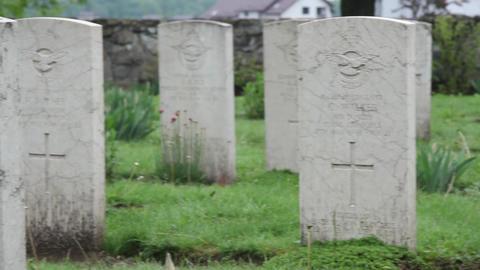 Militar cemetery 26 Footage