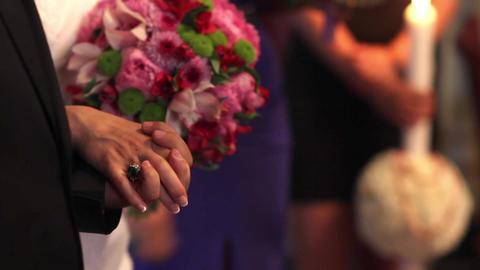 Religious wedding 02 Footage