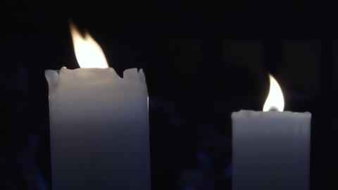 Candles 14 Footage