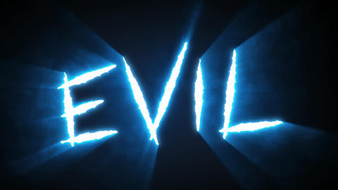 Claw Slashes Evil Blue Animation