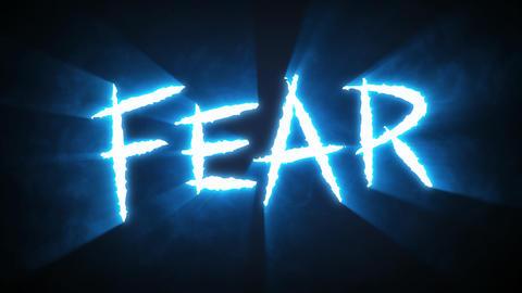 Claw Slashes Fear Blue Animation
