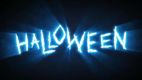 Claw Slashes Halloween Blue Animation